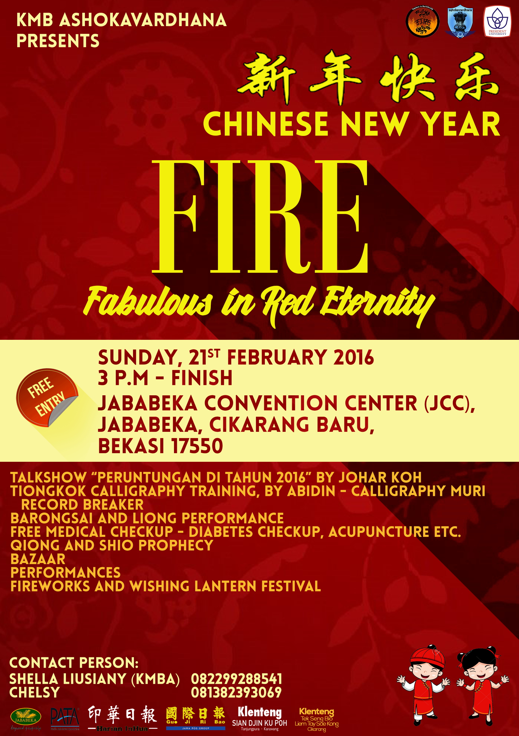 President University Chinese New Year Celebration