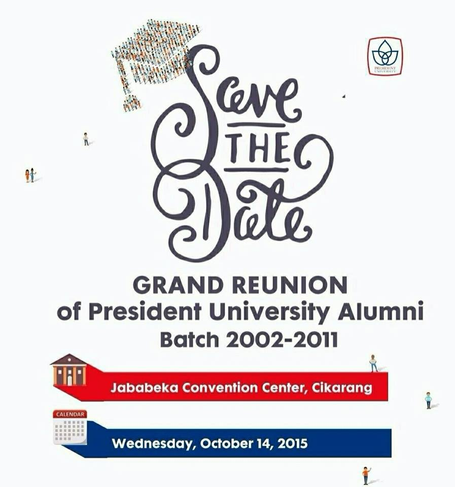 Grand Reunion of President University Alumni
