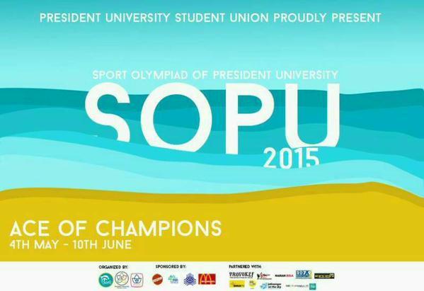 Sport Olympiad of President University 2015